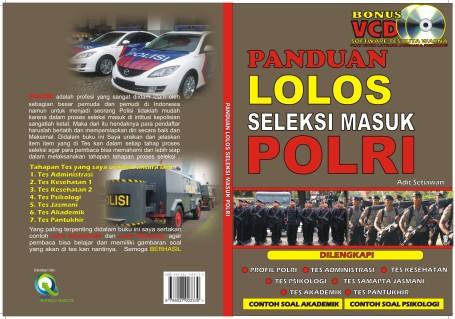 Cover Panduan Masuk POLRI